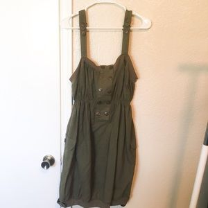 Dresses & Skirts - Olive Green Cadet Dress